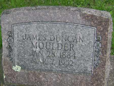 MOULDER, JAMES DUNCAN - Baxter County, Arkansas | JAMES DUNCAN MOULDER - Arkansas Gravestone Photos