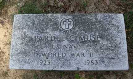 MUSE  (VETERAN WWII), PARDEE C. - Baxter County, Arkansas | PARDEE C. MUSE  (VETERAN WWII) - Arkansas Gravestone Photos