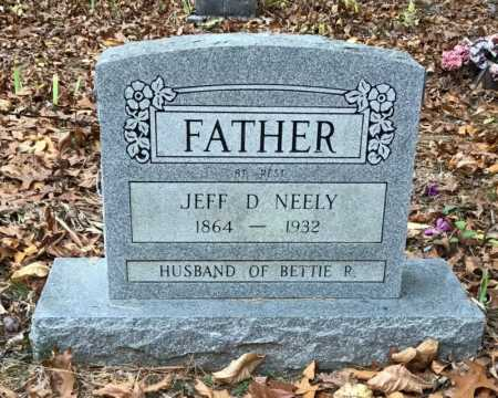 NEELY, JEFF D. - Baxter County, Arkansas | JEFF D. NEELY - Arkansas Gravestone Photos
