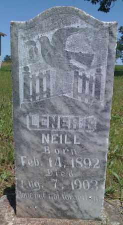 NEILL, LENER F - Baxter County, Arkansas | LENER F NEILL - Arkansas Gravestone Photos