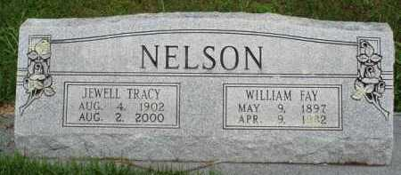 TRACY NELSON, JEWELL - Baxter County, Arkansas | JEWELL TRACY NELSON - Arkansas Gravestone Photos