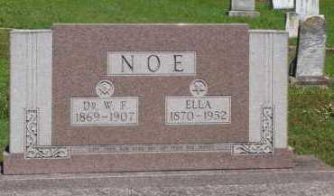 NOE, ELLA - Baxter County, Arkansas | ELLA NOE - Arkansas Gravestone Photos
