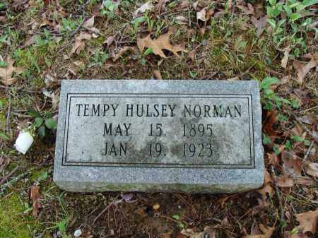 NORMAN, TEMPY - Baxter County, Arkansas | TEMPY NORMAN - Arkansas Gravestone Photos