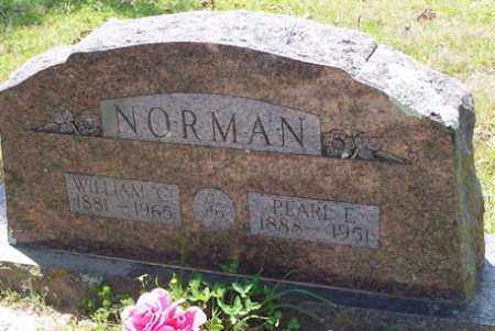 NORMAN, PEARL E - Baxter County, Arkansas | PEARL E NORMAN - Arkansas Gravestone Photos