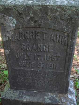 ORANGE, MARGARET ANN - Baxter County, Arkansas | MARGARET ANN ORANGE - Arkansas Gravestone Photos