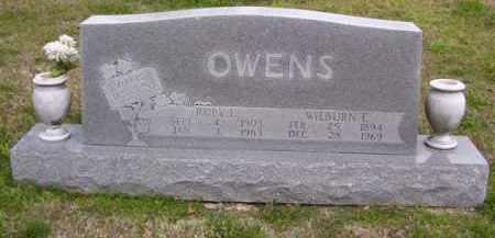 OWENS, WILBURN E. - Baxter County, Arkansas | WILBURN E. OWENS - Arkansas Gravestone Photos