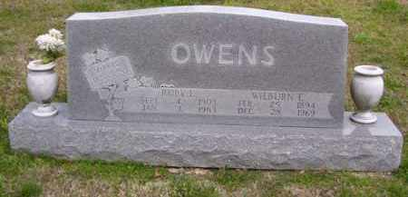 OWENS, RUBY ELIZABETH - Baxter County, Arkansas | RUBY ELIZABETH OWENS - Arkansas Gravestone Photos