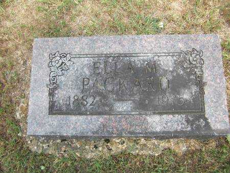 PACKARD, ELLA M. - Baxter County, Arkansas | ELLA M. PACKARD - Arkansas Gravestone Photos