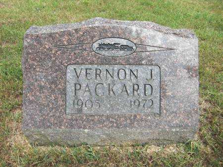 PACKARD, VERNON J. - Baxter County, Arkansas | VERNON J. PACKARD - Arkansas Gravestone Photos