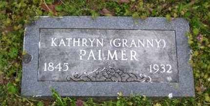 "PALMER, KATHRYN ""GRANNY"" - Baxter County, Arkansas | KATHRYN ""GRANNY"" PALMER - Arkansas Gravestone Photos"