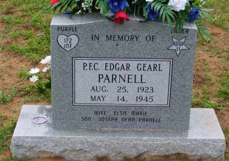 PARNELL, EDGAR GEARL - Baxter County, Arkansas | EDGAR GEARL PARNELL - Arkansas Gravestone Photos