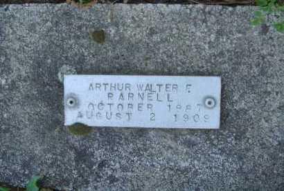 PARNELL, ARTHUR WALTER F. - Baxter County, Arkansas | ARTHUR WALTER F. PARNELL - Arkansas Gravestone Photos