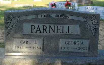 PARNELL, GEORGIA - Baxter County, Arkansas | GEORGIA PARNELL - Arkansas Gravestone Photos
