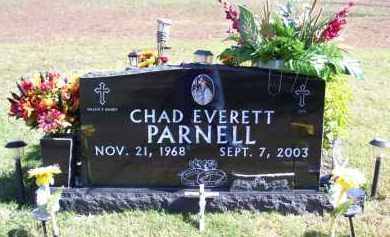 PARNELL, CHAD EVERETT - Baxter County, Arkansas | CHAD EVERETT PARNELL - Arkansas Gravestone Photos
