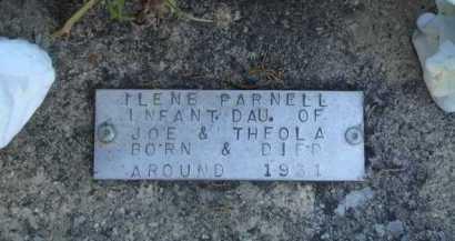 PARNELL, ILENE - Baxter County, Arkansas   ILENE PARNELL - Arkansas Gravestone Photos
