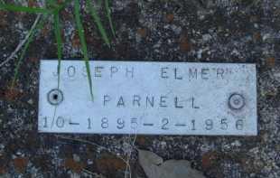 PARNELL, JOSEPH ELMER - Baxter County, Arkansas | JOSEPH ELMER PARNELL - Arkansas Gravestone Photos
