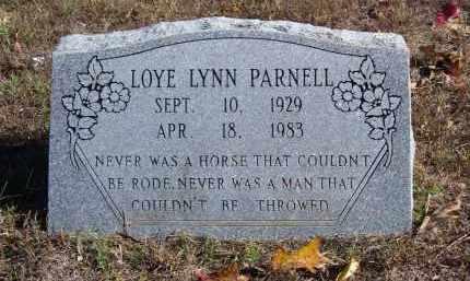 PARNELL, LOYE LYNN - Baxter County, Arkansas | LOYE LYNN PARNELL - Arkansas Gravestone Photos