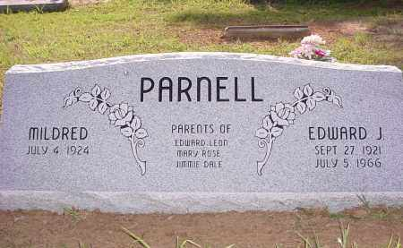 JONES PARNELL, MILDRED - Baxter County, Arkansas | MILDRED JONES PARNELL - Arkansas Gravestone Photos