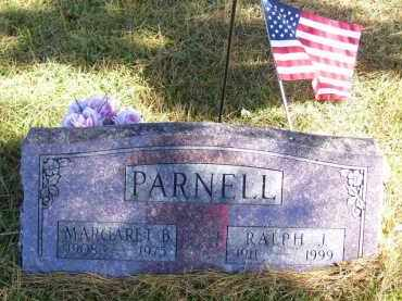 PARNELL, MARGARET B. - Baxter County, Arkansas | MARGARET B. PARNELL - Arkansas Gravestone Photos