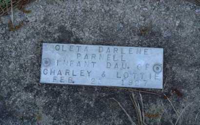 PARNELL, OLETA DARLENE - Baxter County, Arkansas | OLETA DARLENE PARNELL - Arkansas Gravestone Photos