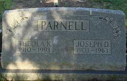 PARNELL, JOSEPH D. - Baxter County, Arkansas | JOSEPH D. PARNELL - Arkansas Gravestone Photos