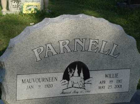 PARNELL, WILLIE - Baxter County, Arkansas | WILLIE PARNELL - Arkansas Gravestone Photos