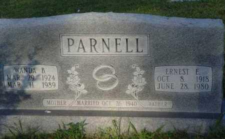 PARNELL, ERNEST E. - Baxter County, Arkansas | ERNEST E. PARNELL - Arkansas Gravestone Photos