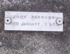 PARRISH, JOHN - Baxter County, Arkansas | JOHN PARRISH - Arkansas Gravestone Photos