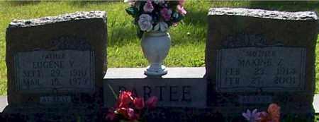 PARTEE, MAXINE Z. - Baxter County, Arkansas | MAXINE Z. PARTEE - Arkansas Gravestone Photos