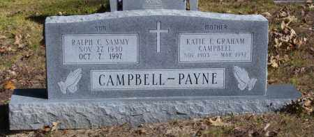 PAYNE, KATIE LEE - Baxter County, Arkansas | KATIE LEE PAYNE - Arkansas Gravestone Photos