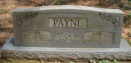PAYNE, MAURICE L. - Baxter County, Arkansas | MAURICE L. PAYNE - Arkansas Gravestone Photos