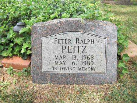 PEITZ, PETER RALPH - Baxter County, Arkansas | PETER RALPH PEITZ - Arkansas Gravestone Photos