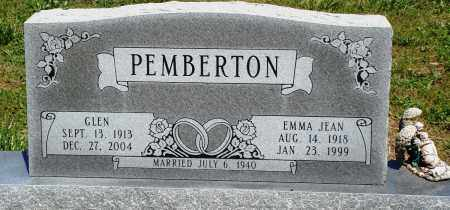PEMBERTON, GLEN - Baxter County, Arkansas | GLEN PEMBERTON - Arkansas Gravestone Photos