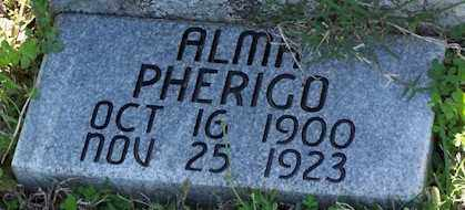 PHERIGO, ALMA - Baxter County, Arkansas | ALMA PHERIGO - Arkansas Gravestone Photos