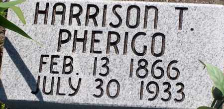 PHERIGO, HARRISON T - Baxter County, Arkansas | HARRISON T PHERIGO - Arkansas Gravestone Photos