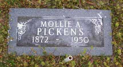 FRIX PICKENS, MOLLIE A. - Baxter County, Arkansas | MOLLIE A. FRIX PICKENS - Arkansas Gravestone Photos