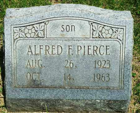PIERCE, ALFRED F - Baxter County, Arkansas | ALFRED F PIERCE - Arkansas Gravestone Photos