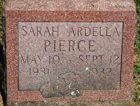 PIERCE, SARAH ARDELLA - Baxter County, Arkansas | SARAH ARDELLA PIERCE - Arkansas Gravestone Photos
