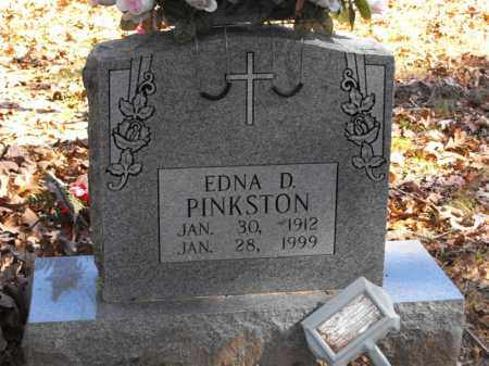 MOSS PINKSTON, EDNA D. - Baxter County, Arkansas | EDNA D. MOSS PINKSTON - Arkansas Gravestone Photos