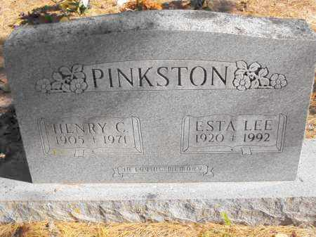 MARTIN PINKSTON, ESTA LEE - Baxter County, Arkansas | ESTA LEE MARTIN PINKSTON - Arkansas Gravestone Photos