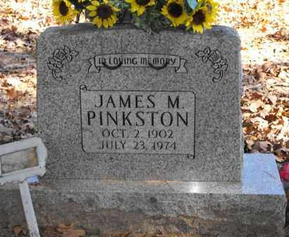 PINKSTON, JAMES M. - Baxter County, Arkansas | JAMES M. PINKSTON - Arkansas Gravestone Photos