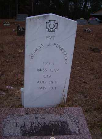 PINKSTON (VETERAN CSA), THOMAS J - Baxter County, Arkansas | THOMAS J PINKSTON (VETERAN CSA) - Arkansas Gravestone Photos