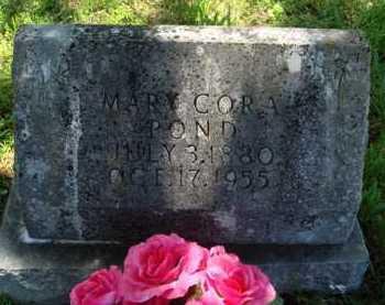 POND, MARY CORA - Baxter County, Arkansas | MARY CORA POND - Arkansas Gravestone Photos