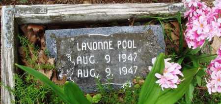POOL, LAVONNE - Baxter County, Arkansas | LAVONNE POOL - Arkansas Gravestone Photos