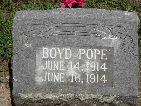 POPE, BOYD - Baxter County, Arkansas | BOYD POPE - Arkansas Gravestone Photos