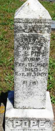 POPE, ELIZA S - Baxter County, Arkansas | ELIZA S POPE - Arkansas Gravestone Photos