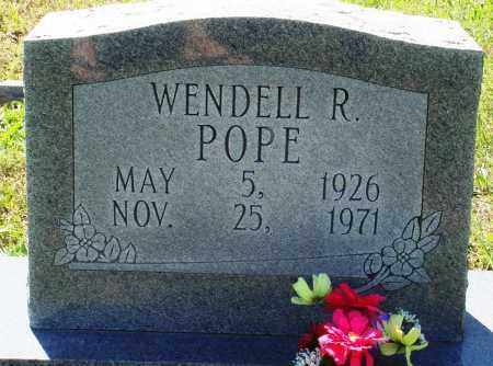 POPE, WENDELL R - Baxter County, Arkansas | WENDELL R POPE - Arkansas Gravestone Photos