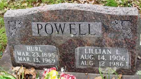 POWELL, LILLIAN L - Baxter County, Arkansas | LILLIAN L POWELL - Arkansas Gravestone Photos