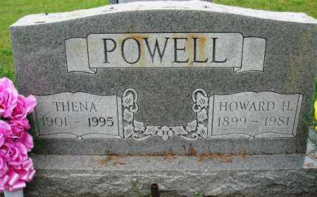 POWELL, HOWARD H - Baxter County, Arkansas | HOWARD H POWELL - Arkansas Gravestone Photos