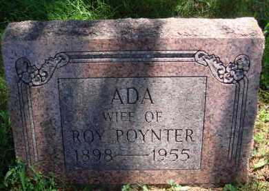 POYNTER, ADA - Baxter County, Arkansas | ADA POYNTER - Arkansas Gravestone Photos